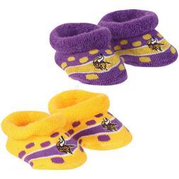 Minnesota Vikings Infant Socks Booties