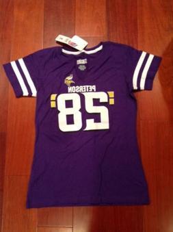 Minnesota Vikings Jersey Tee T-Shirt Jersey Viking  #28 Pete