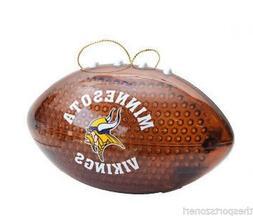 Minnesota Vikings Light Up Football Ornament
