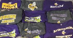 Minnesota Vikings NFL Men's *2 MYSTERY SHIRTS* - Multiple Si