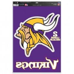 """Minnesota Vikings 11"""" x 17"""" Multi Use Decals  - Auto,Windows"""