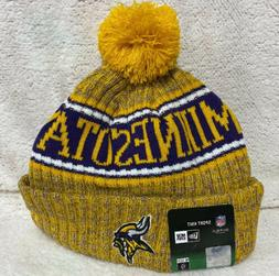 Minnesota Vikings New 2018 Sport Football  Knit Hat - Yellow