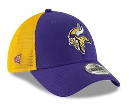 """Minnesota Vikings New Era NFL 39THIRTY """"2T Sided"""" Flex Fit M"""