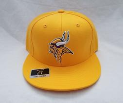 minnesota vikings nfl 3d embroidered yellow hat