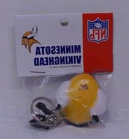MINNESOTA VIKINGS NFL 4 IN 1 TOPPER ANTENNA PENCIL KEY CHAIN