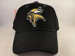 minnesota vikings nfl adjustable strap hat cap