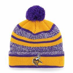 Minnesota Vikings OTS NFL Adult Men's NFL Huset Cuff Knit Ha