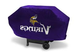 Minnesota Vikings Official NFL Deluxe Grill Cover by Rico In