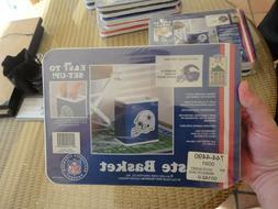 Minnesota Vikings NFL FOOTBALL TEAM LOGO TRASH CAN WASTE bas