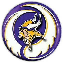 Minnesota Vikings NFL Logo Car Bumper Sticker Decal - 3'' or