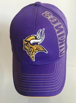 Minnesota Vikings NFL Purple Cap Licensed Apparel Reebok Vik