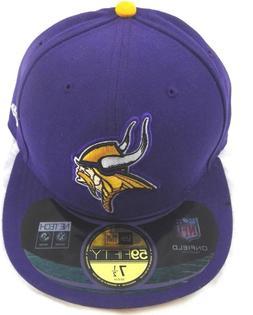 New Era Minnesota Vikings NFL Sideline 59Fifty Purple Fitted