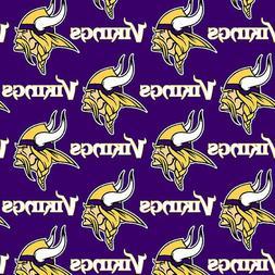 Minnesota Vikings NFL Window Curtain Valance  56 x 15   Hand