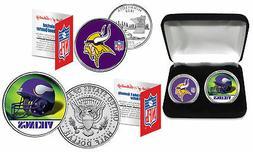 minnesota vikings officially licensed nfl 2 coin