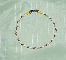 MINNESOTA  VIKINGS - PARACORD NECKLACE or BRACELET