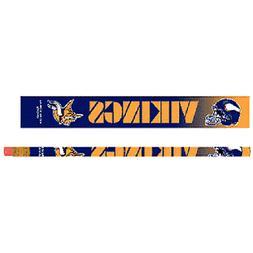 Minnesota Vikings Pencils 6 Pack