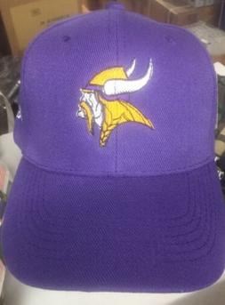 minnesota vikings purple baseball hat new adult