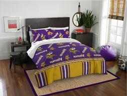 Minnesota Vikings NFL Queen Comforter & Sheets, 5 Piece NFL