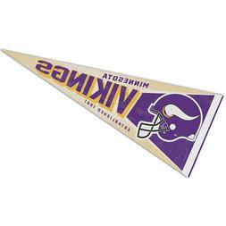 Minnesota Vikings Retro Vintage Logo Pennant Flag