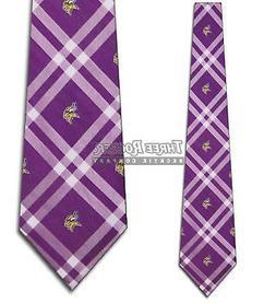 Minnesota Vikings Purple Rhodes Tie - NFL