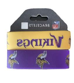 Minnesota Vikings Rubber Wrist Band  NFL