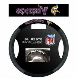 Minnesota Vikings Steering Wheel Cover NFL Football Team Log