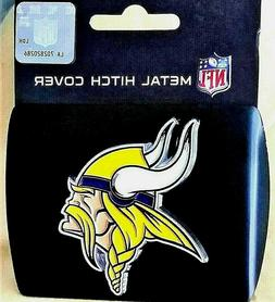 minnesota vikings trailer hitch cover
