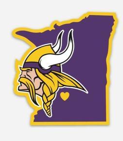 Minnesota Vikings VINYL MAGNET for Car or Fridge - NFL Vikin