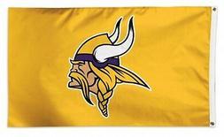 Minnesota Vikings WC YELLOW w/Logo Premium 3x5 Flag Outdoor