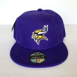 NEW Mens Minnesota Vikings Baseball Cap Fitted Hat Multi Siz