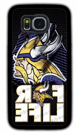 MINNESOTA VIKINGS PHONE CASE FOR SAMSUNG GALAXY NOTE S4 5G 6
