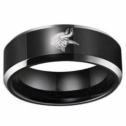 New Minnesota Vikings Stainless Steel Digital Engraved Men F