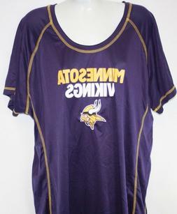 NEW Womens NFL Team Apparel Minnesota Vikings Purple Synthet