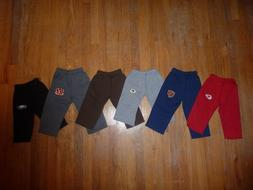 NFL Baby/Toddler CUTE Boy or Girl Sweatpants YOU CHOOSE colo