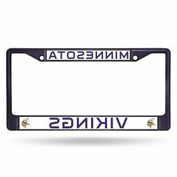 NFL Colored Chrome Plate Frame
