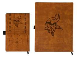NFL FOOTBALL Minnesota Vikings Laser Engraved Notepad - Give