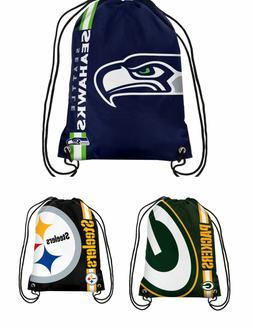 nfl football team logo drawstring backpack pick