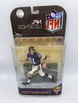 NFL Fran Tarkenton ~ Minnesota Vikings ~ McFarlane Toys Figu
