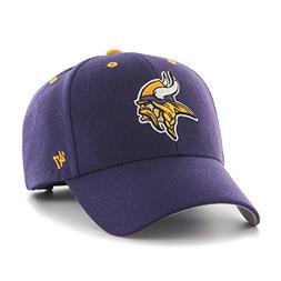 NFL Minnesota Vikings '47 MVP Adjustable Hat, One Size, Purp