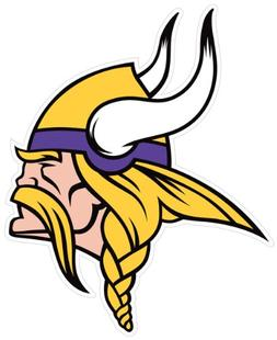 "Siskiyou NFL Minnesota Vikings 8"" Automotive Magnet"