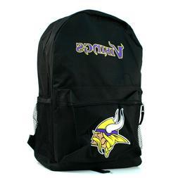 nfl minnesota vikings black backpack