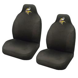 NFL Minnesota Vikings Car Truck 2 Front Seat Covers Set - Of