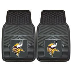 Fanmats NFL Minnesota Vikings Car Truck 2 Front Heavy Duty R