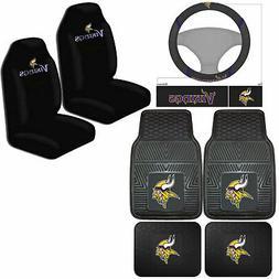 NFL Minnesota Vikings Car Truck Seat Covers Floor Mats & Ste