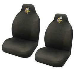 NFL Minnesota Vikings Car Truck Suv Black Front Bucket Seat
