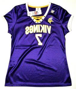 NFL Minnesota Vikings Case Keenum #7 Women's Draft Me Jersey