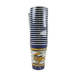 NFL Minnesota Vikings Disposable Paper Cups