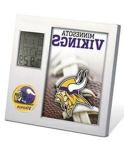 NFL MINNESOTA VIKINGS FOOTBALL TEAM DIGITAL DESK CLOCK ALARM