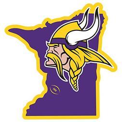 "Siskiyou NFL Minnesota Vikings Home State Magnet, 11"", Purpl"