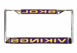 Official NFL Minnesota Vikings License Plate Frame 646080